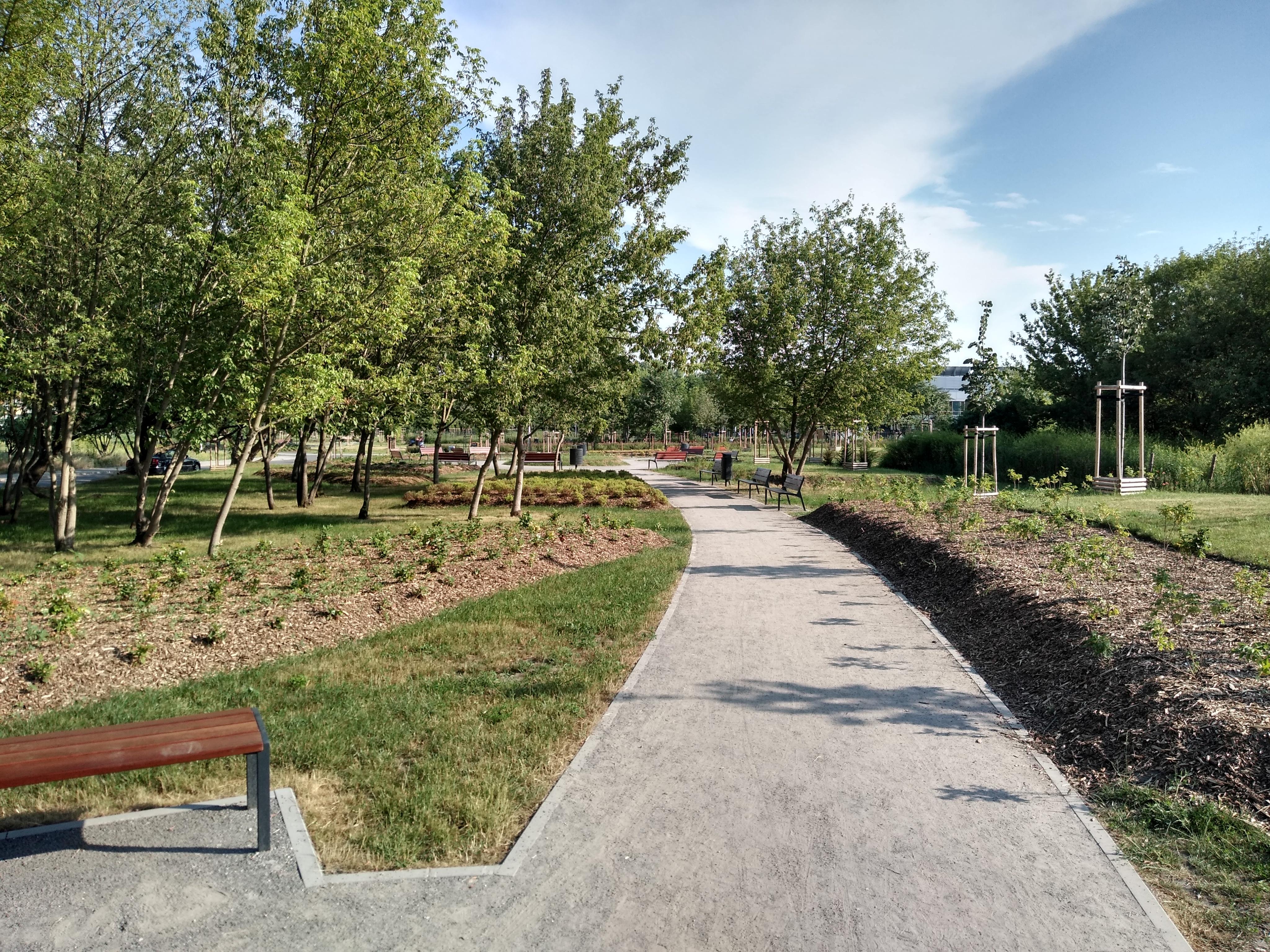 Nowo powstały park