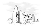 Katastrofa budowlana w pewnym kościele
