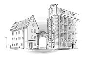 Kamieniczki Jaś i Małgosia