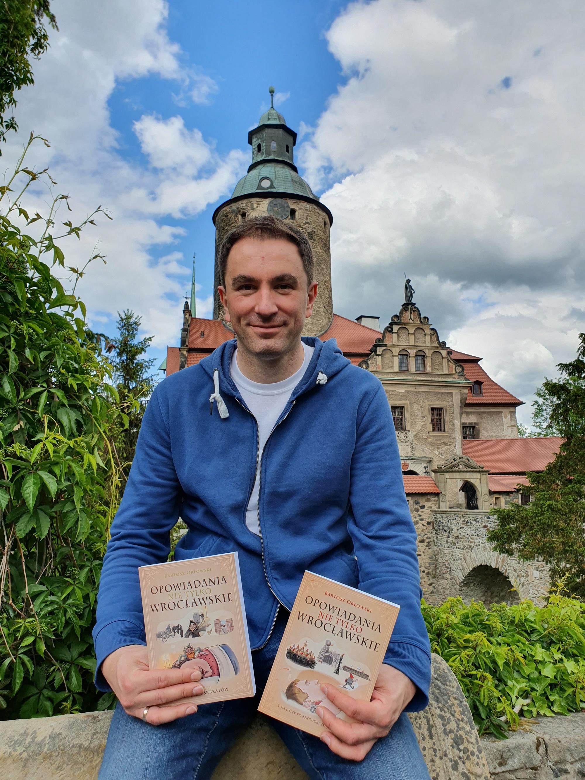 Bartosz Orłowski i Opowiadania nie tylko wrocławskie na zamku Czocha