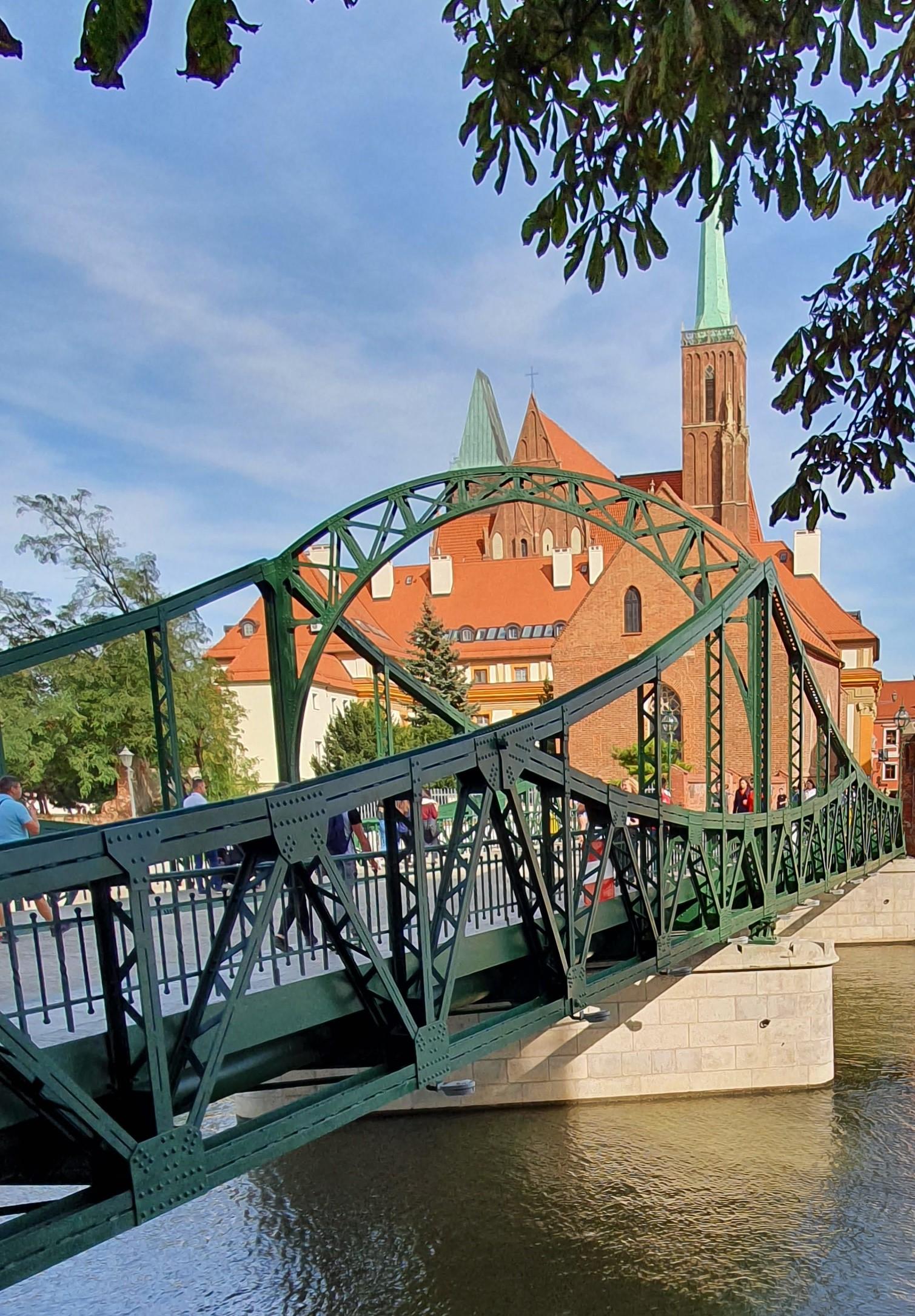 Most Tumski znany także jako most Miłości Wrocław